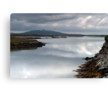 North Uist: Perfect Calm Canvas Print