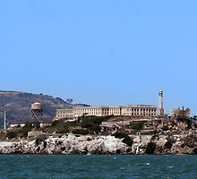 Alcatraz Island  by Peggy Berger