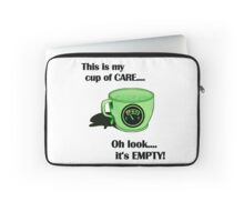 My cup of CARE... Laptop Sleeve