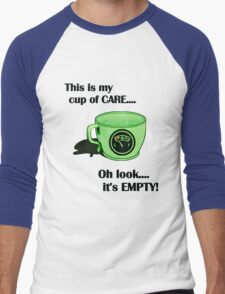 My cup of CARE... Men's Baseball ¾ T-Shirt