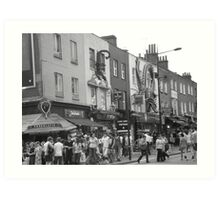 Streets of Camden Art Print