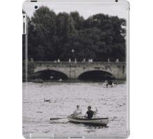 Row Boats in Stratford-upon-Avon iPad Case/Skin