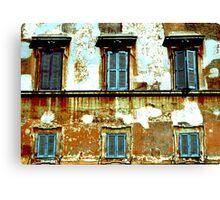 A Trastevere Square Canvas Print
