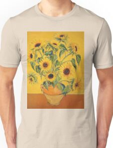 'A Brush with Vincent'.  Unisex T-Shirt