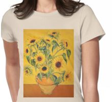 'A Brush with Vincent'.  Womens Fitted T-Shirt