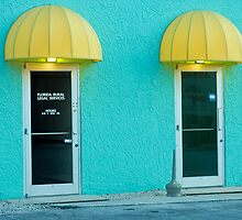 Two doors by Larry  Grayam
