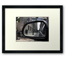 reflections of where I've been Framed Print