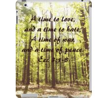 A time for.... iPad Case/Skin