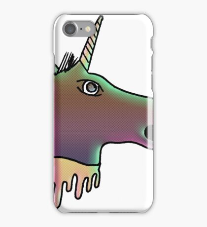 uni the severed unicorn head iPhone Case/Skin