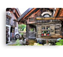 Nice Cottage in Bavaria Canvas Print