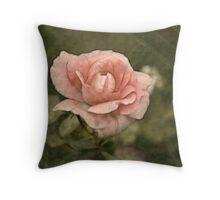 Just a Rose Throw Pillow