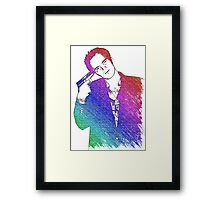 Tarantino Colors Framed Print