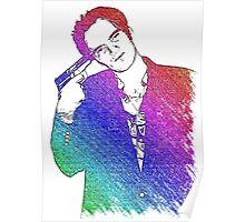 Tarantino Colors Poster