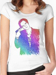 Tarantino Colors Women's Fitted Scoop T-Shirt