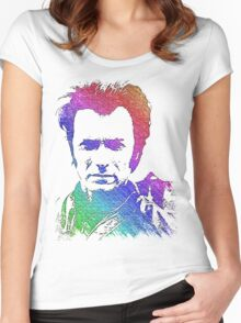 Clint eastwood Women's Fitted Scoop T-Shirt