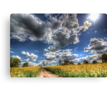 The Summers Day Farm Canvas Print