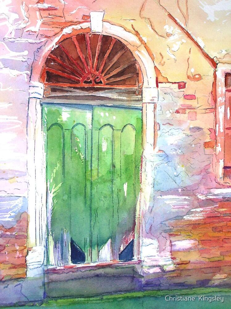 Venetian Doorway by Christiane  Kingsley