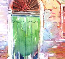 Venetian Doorway by Christiane  Kingsley