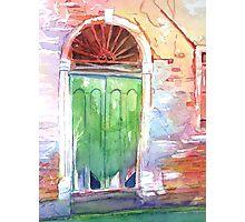 Venetian Doorway Photographic Print