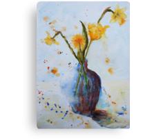 The Danelion makes Four Canvas Print
