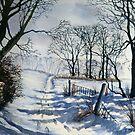Winter Walk to Dane's Dyke by Glenn  Marshall