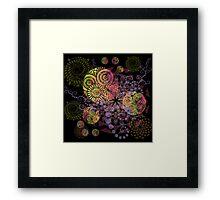 Colorful Feast Framed Print