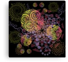 Colorful Feast Canvas Print
