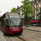 Modern Tram at Clermont-Ferrand by bubblehex08