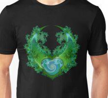 Lizard skin in green Unisex T-Shirt