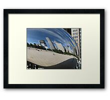Chicago Reflections Framed Print
