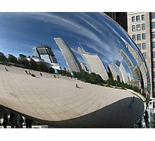 Chicago Reflections Photographic Print