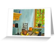 Valley Forge Kitchen Greeting Card