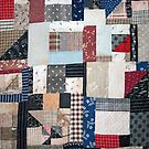 old quilt by Lynne Prestebak