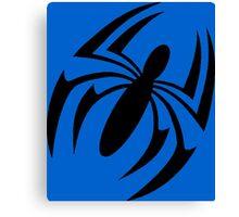 Scarlet Spider Symbol Canvas Print