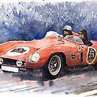 Ferrari 500 Mondial by Yuriy Shevchuk