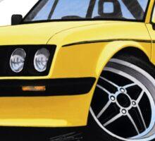 Ford Escort (Mk2) RS2000 Yellow Sticker
