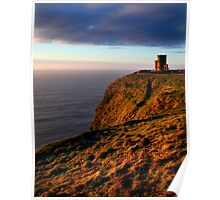 Watchtower on Moher Poster