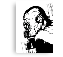 Gas Mask 1.0 Canvas Print