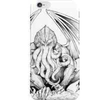 God-being CTHULHU  iPhone Case/Skin