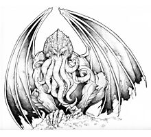 God-being CTHULHU  Photographic Print
