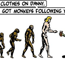 Danny - Evolution by kerchow