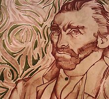 Vincent Van Gogh (Sold) by Donnahuntriss