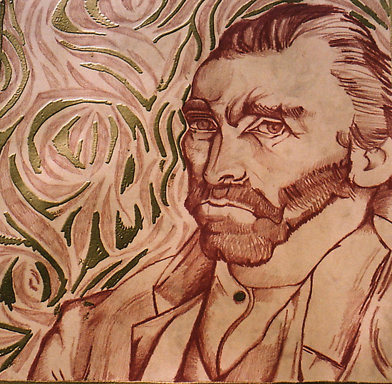Vincent Van Gogh (Sold) by Donna Huntriss