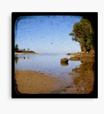 Lake Cathie Through The Viewfinder (TTV) Canvas Print