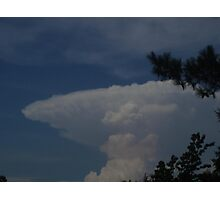 Guess that Cloud! Photographic Print