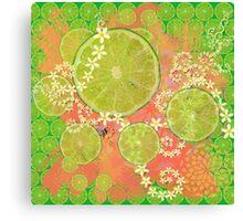 Lime Feast Canvas Print
