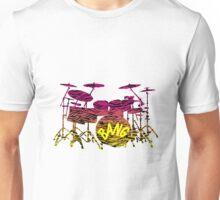Rainbow Tiger Drums Unisex T-Shirt