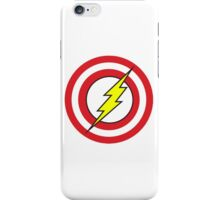 Captain Flash iPhone Case/Skin