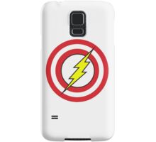 Captain Flash Samsung Galaxy Case/Skin