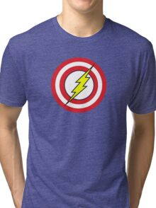 Captain Flash Tri-blend T-Shirt